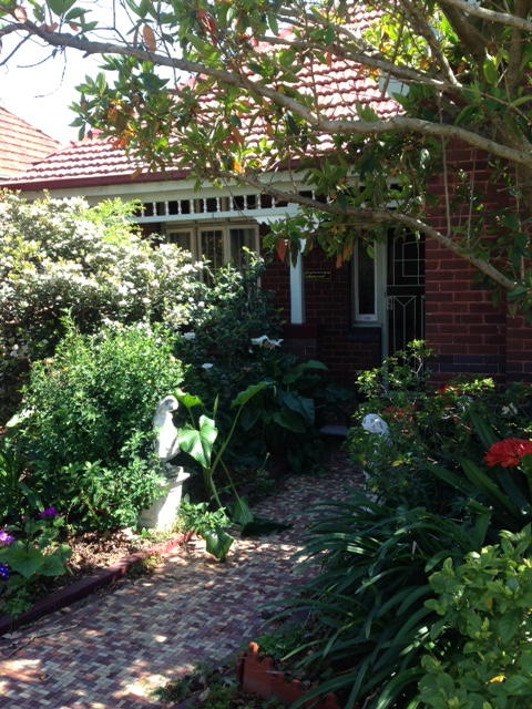 Garden and house in Walker Avenue, Haberfield would be bulldozed